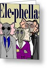 Ele-phellas Greeting Card