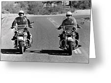Electra Glide In Blue  Greeting Card