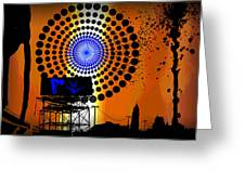 Electric Avenue Greeting Card