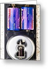 Electric Bell Mechanism Greeting Card by Martyn F. Chillmaid