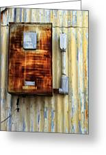 Electric Box Greeting Card