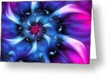 Electric Colours Greeting Card