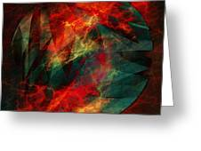 Electric Dreams Of The Ancients Greeting Card