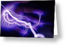 Electric Hand Greeting Card