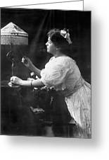 Electric Lamp, 1908 Greeting Card