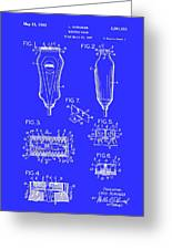 Electric Razor Patent 1940 Greeting Card