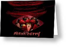 Electric Strawberry II Greeting Card