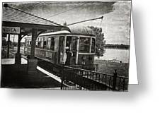 Electric Streetcar I Greeting Card