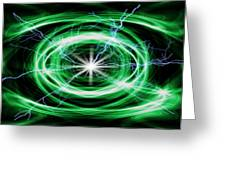 Electric Strom Greeting Card