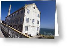 Electrical Repair Shop Alcatraz Island Greeting Card