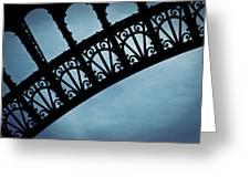 Electrify - Eiffel Tower Greeting Card