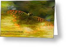Electrifying Scripture Art Greeting Card