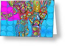 Elefantos - Av03-ps01 Greeting Card by Variance Collections