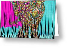 Elefantos - Cr01ac02 Greeting Card