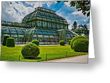 Elegant Greenhouse Greeting Card by Viacheslav Savitskiy