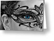 Elegant Mask Greeting Card