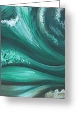 Elemental Sea No 2 Greeting Card