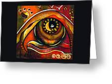 Elementals Spirit Eye Greeting Card