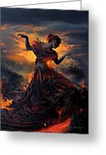 Elements - Fire Greeting Card