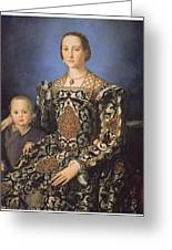 Eleonora Ad Toledo Grand Duchess Of Tuscany Greeting Card