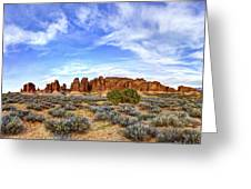 Elephant Butte Greeting Card by Chad Dutson