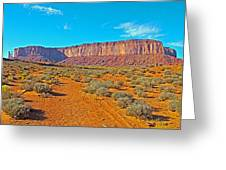 Elephant Butte From Wildcat Trail In Monument Valley Navajo Tribal Park-arizona   Greeting Card