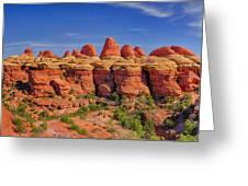 Elephant Canyon Panorama Greeting Card