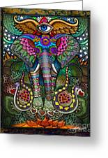 Elephant Dream Greeting Card