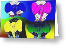 Elephant Parade Greeting Card