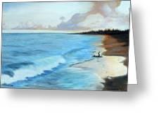 Eleutheran Seashore Greeting Card