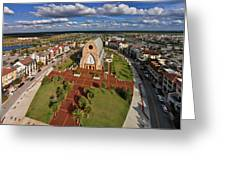 Elevated View Of Ave Maria Oratory Greeting Card