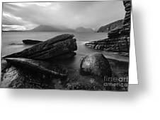 Elgol Beach Isle Of Skye Scotland Uk Greeting Card
