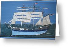 Elissa The Ship Greeting Card