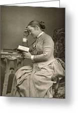 Elizabeth Garrett Anderson Greeting Card by Stanislaus Walery