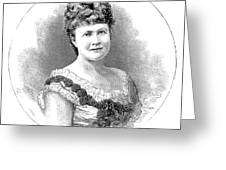 Elizabeth Of Romania (1843-1916) Greeting Card