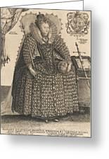 Elizabeth, Queen Of England, C.1603 Greeting Card