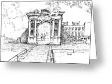 Elizabeth's Gate Greeting Card