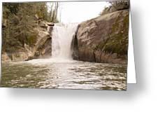 Elk Creek Falls 34 Greeting Card