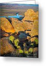 Elk Mountain Sunset Greeting Card
