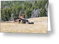 Elk Park Homestead Greeting Card
