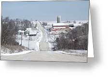 Elkader Farm Greeting Card