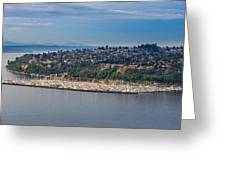 Elliott Bay Marina Greeting Card