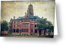 Ellis County Courthouse Greeting Card