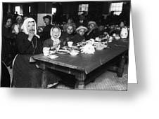 Ellis Island, 1920 Greeting Card