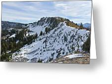 Ellis Peak Trail 5 Greeting Card