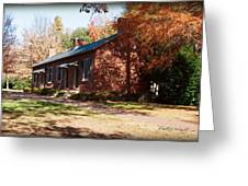 Elm Offices - Davidson College Greeting Card