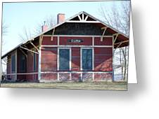 Elma Depot Greeting Card