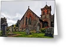 Elvanfoot Parish Church Greeting Card by Marcia Colelli