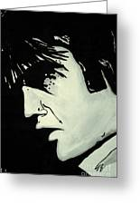 Elvis.     The King Greeting Card