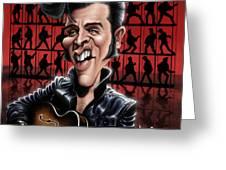 Elvis In Memphis Greeting Card